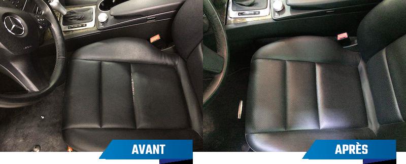 Service de réparation cuir et vinyle pour automobile
