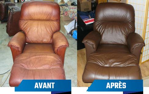 Service de réparation cuir et vinyle pour ameublement
