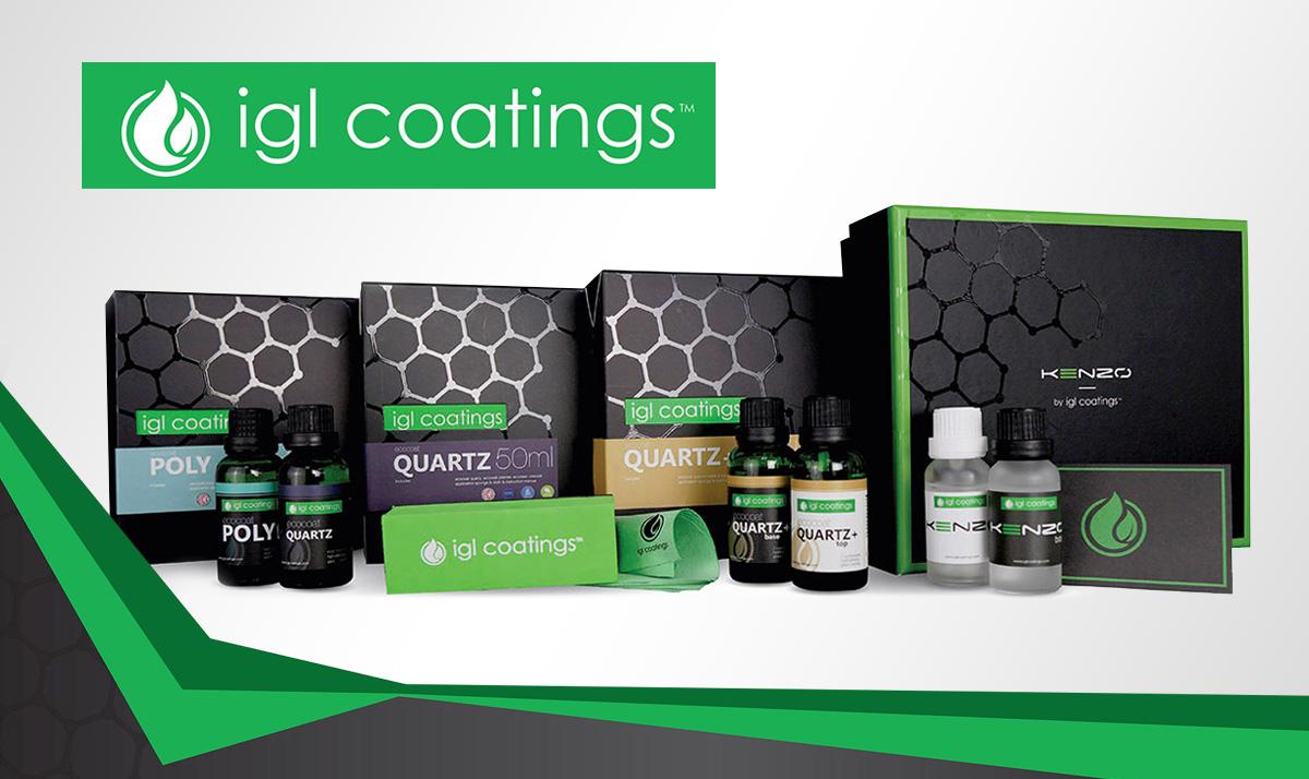 Traitement de protection de peinture - IGL Coatings - Ceramic Coatings - Revêtements Nanotechnologiques - Service Spark Esthétique
