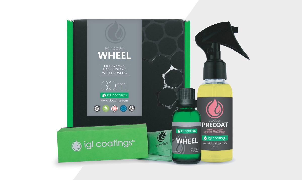 EcoCoat Wheel - IGL Coatings - Ceramic Coatings - Revêtements Nanotechnologiques - Service Spark Esthétique